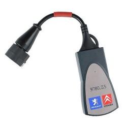 Диагностический сканер Lexia 3 для автомобилей Citroen и Peugeot на русском языке