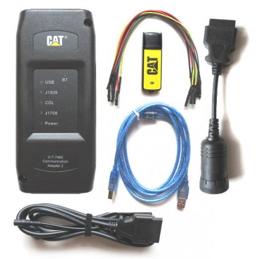 Сканер для грузовых автомобилей CAT