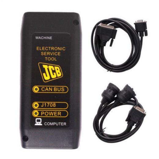 Дилерский сканер JCB Diagnostic Kit для тракторов, экскаваторов, погрузчиков, двигателей JCB