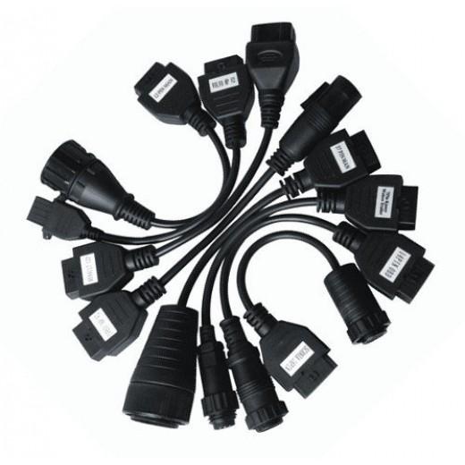 Комплект кабелей для диагностики грузовых автомобилей к сканеру Autocom CDP Trucks