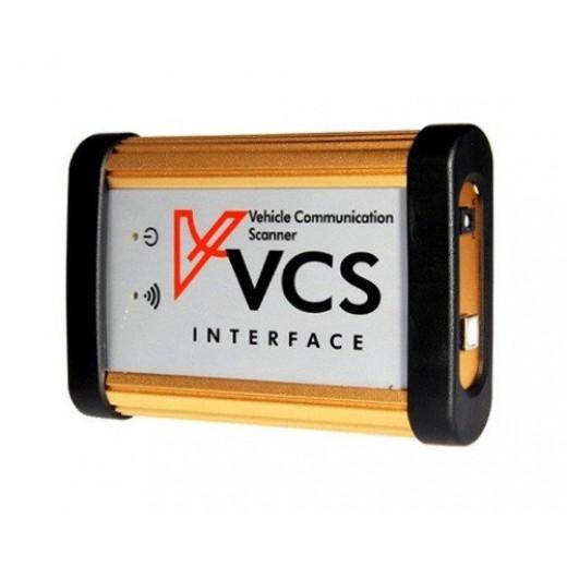 VCS Vehicle Communication Scanner - универсальный мультимарочный сканер для диагностики автомобилей